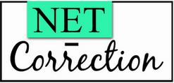 NET CORRECTION : Correction d'orthographe, rapport, mémoire, thèse – (Lille – Nord/Pas-de-Calais) Logo